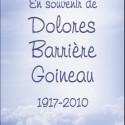Dolores Barrière Goineau, 2010-11-25