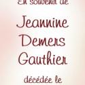 Jeannine Demers Gauthier, 2011-06-16
