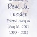 René Jr. Lussier, 2011-05-18