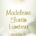 Madeleine Fortin Lambert, 2011-06-25