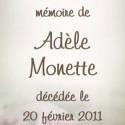 Adèle Monette, 2011-02-20