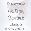 Gaëtan Couture, 2011-09-15