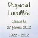 Raymond Lavallée, 2012-02-27