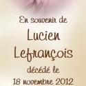 Lucien Lefrançois, 2012-11-18