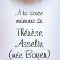 Thérèse Asselin (Née Boyer), 2014-01-27