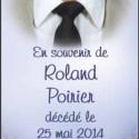 Roland Poirier, 2014-05-25