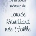 Laurée Rémillard (née Faille), 2011-01-25