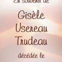 Gisèle Usereau Trudeau, 2011-01-27